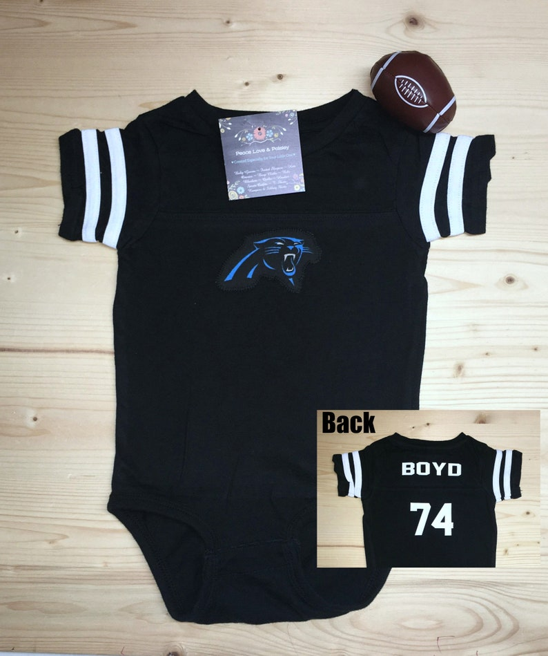 f2be4ca2 Carolina Panthers Baby Bodysuit or Shirt,Panthers Kids Shirt,Panthers  Jersey,Kids Footlball Jersey,Personalized Kids Shirt,Baby Shower Gift