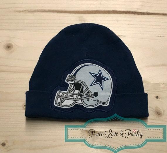 Dallas Cowboys Baby Hat Made from Dallas Cowboys Fabric Baby  e5ffb1672