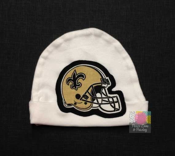 7448f3a6 New Orleans Saints Baby Hat Made from Saints Fabric, NOLA Baby, Baby Boy  Saints, Baby Saints Hat, Baby Shower Gift, New Baby Gift, NFL Baby