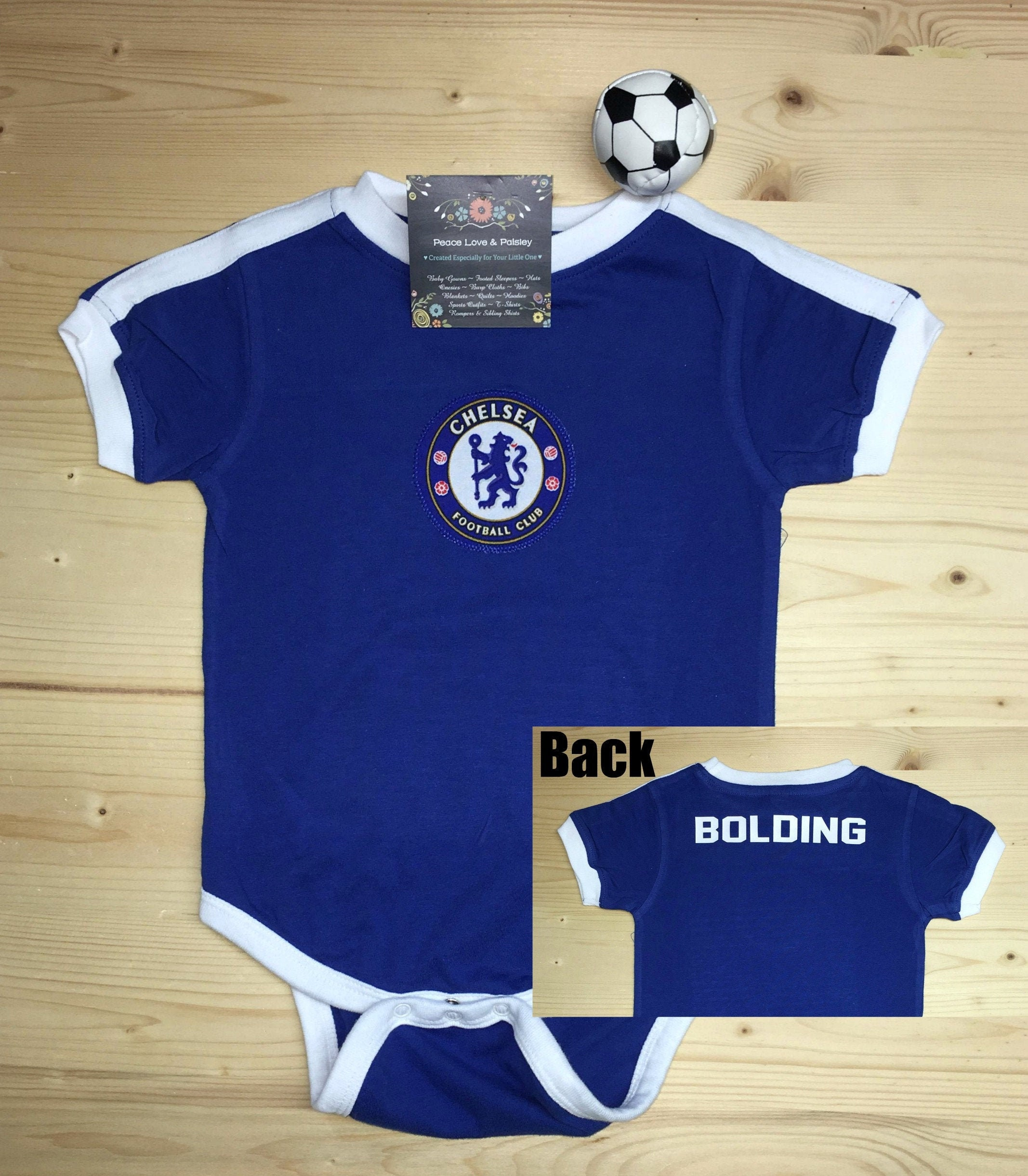 size 40 60fe3 4d3d6 Chelsea Football Club Baby Jersey, Baby Soccer Jersey, Chelsea FC Baby,  Lions Baby, Personalized Baby Soccer Jersey, Chelsea Baby Gift