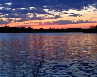 South Dakota Sunset Digital Dowload