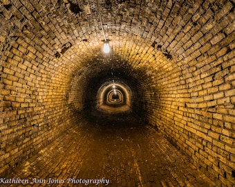 Steam Tunnel in Traverse City Assylum (State Mental Hospital)
