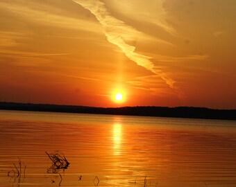 Sunset Over East Grand Traverse Bay Digital Download