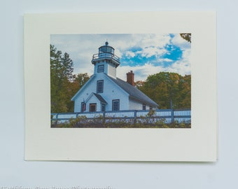 Old Mission Lighthouse Note Cards