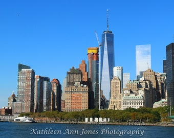 Manhattan Skyline Note Cards