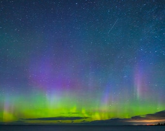 Aurora over Mission Point Digital Download