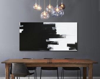 Modern Interieur Schilderij : Groot hedendaags modern luik schilderij cm op cm te