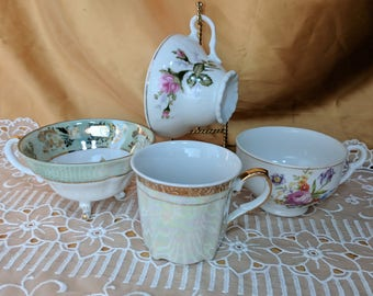 PICK A Vintage Tea Cup or two or three or four *eb