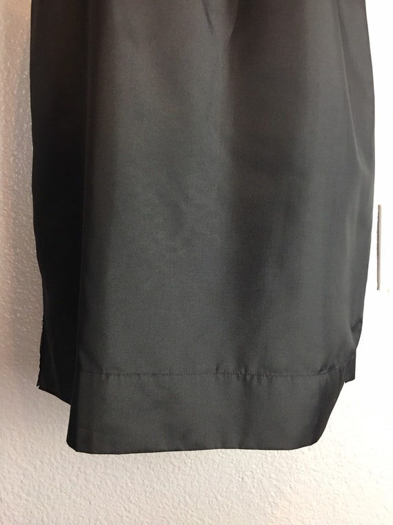 Val Mode Dress Slip Sz 36 Black with Zipper
