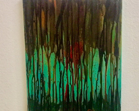 Abstract Art, Street Art, Graffiti Art, Poetry, Painting, Original Painting, Spraypaint Art, Art on Canvas, Artwork by Shannon Ruther