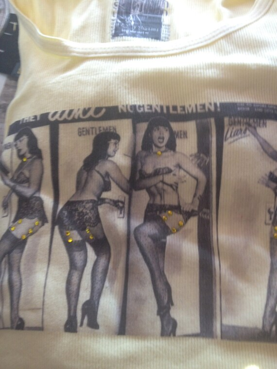 Clothing, Women's T-Shirt, Tops and Tees, Women's Tee, Bettie Page Shirt, Tees for Women, T-Shirt, Women's Bettie Page Shirt