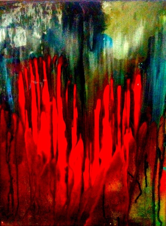 Art Print, Digital Art Print, Abstract Art, Art Print on Canvas, Deadly Love by Shannon Ruther of Las Vegas