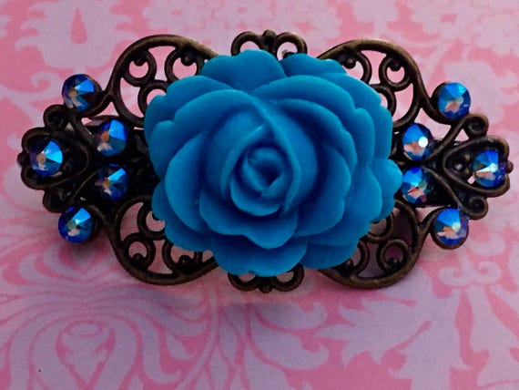 Flower Clip, Bobby Pins, Hair Pins, Hair Clips, Hair Barrettes, Flower Hair Clips