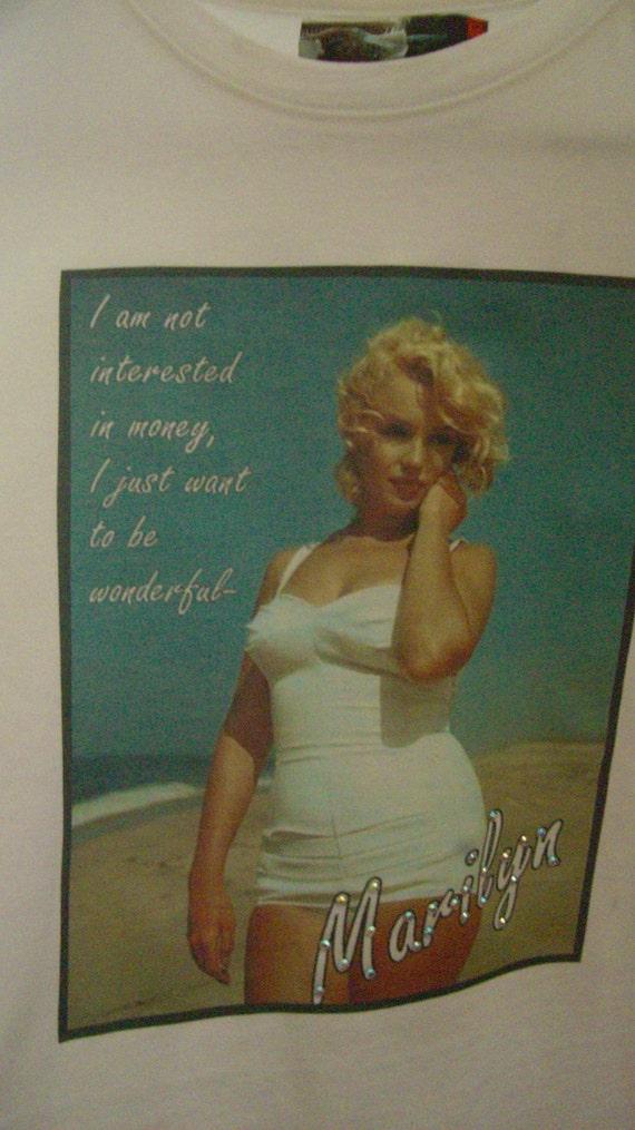 Clothing, Womens Clothing, Marilyn Monroe T-shirt, Fashion Tees, Tops & Tees, Women's T-shirts, Retro T-shirts