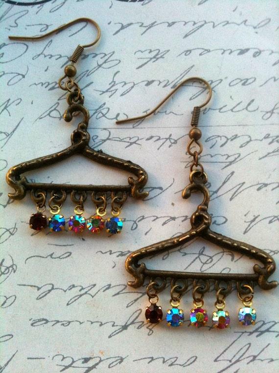 Jewelry, Earrings, Vintage Swarovski Earrings, Crystal Earrings, Antique Earrings, Vintage Earrings, Earrings for Women