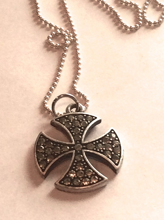 Jewelry Necklace, Jewelry for Men, Metal Celtic Cross Necklace, Men's Jewelry
