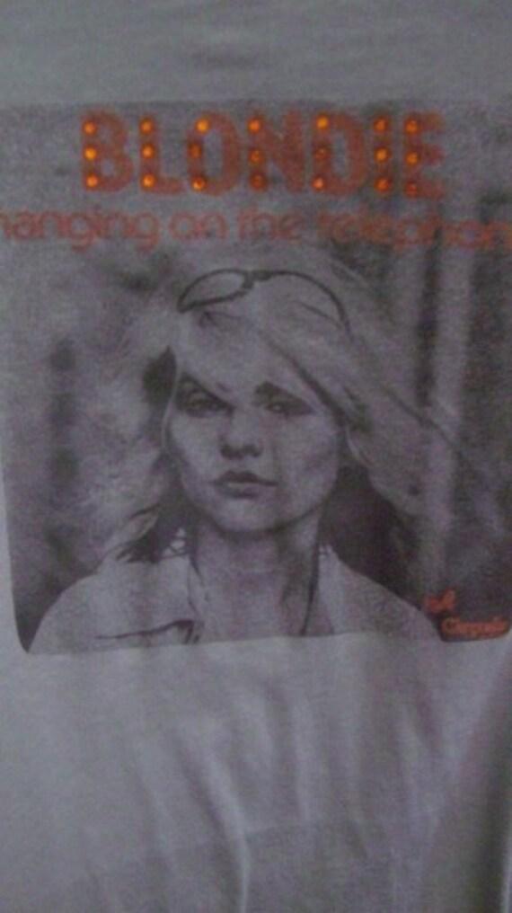 Clothing, Women's Clothing, Tops & Tees, T-Shirts, Blondie Shirt, Fashion Art Tees, Debbie Harry, Band Tees