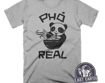 3ff7d68ae994 Pho Shirt Panda Shirt Food Gift Funny Tshirts Foodie Gifts Noodle Bowl Mens  Tshirt Womens Graphic Tees Asian Vietnamese Art Panda Bear Shirt