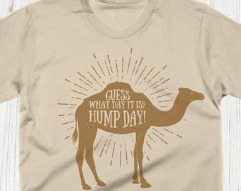 f2fb2cf6 Hump Day Tshirt, Camel Shirt, Funny Tshirts, Wednesday Gift, Vintage Mens  Shirt, Womens Graphic Tee, Kids Shirts, Animal Prints