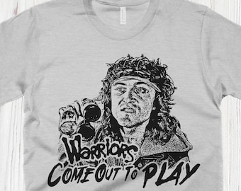 4cfa94f8b Warriors Come Out To Play Tshirt The Warriors Shirt Vintage Movie Shirts  80s Classics Graphic Tees Mens Shirts Womens Shirts Cool Shirts