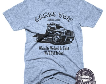 fcaa996b Camel Tow Truck Service T-Shirt, Funny Camel Shirt, Truck Shirt, Towing  Service Shirts, Tow Truck Driver Gift, Mens Shirts, Funny Car Shirts