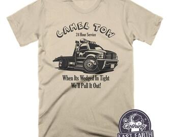 f4c6a773107 Camel Tow T-Shirt, Funny Shirts, Camel Shirt, Tow Truck Driver Gifts, Mens  Tshirts, Womens Shirts, Joke Shirt, Repo, Funny Car Shirts