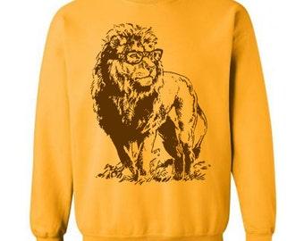 634de752 Lion sweatshirt | Etsy