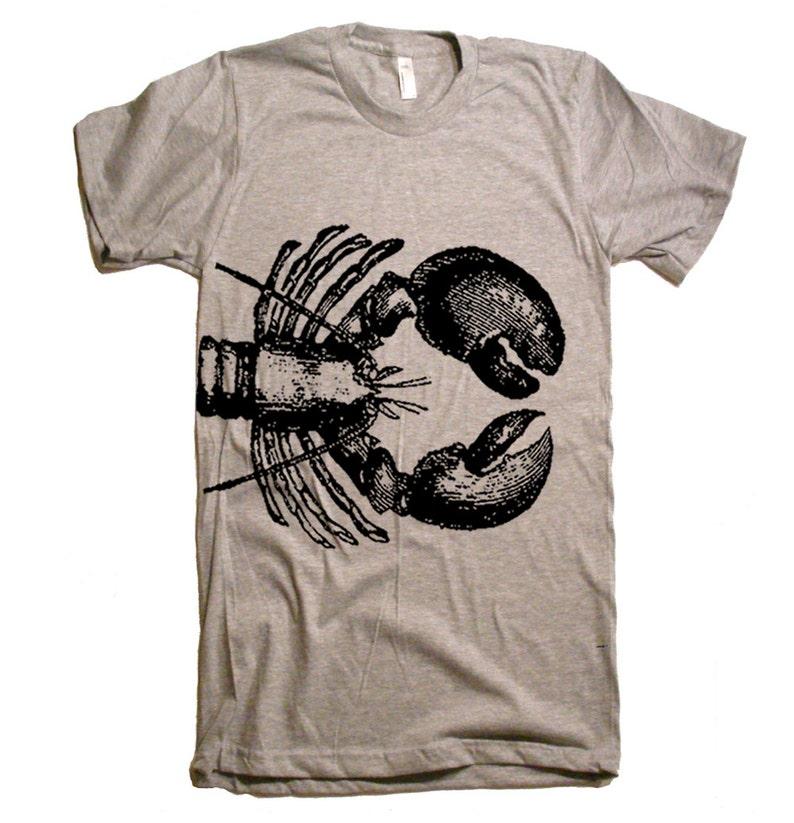dec019ecdf608 On Sale Lobster Shirt Nautical Mens Tshirt Womens Graphic Tees