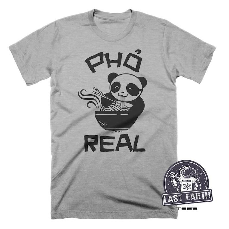 36178184a Pho Shirt Panda Shirt Food Gift Funny Tshirts Foodie Gifts | Etsy