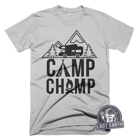 dea75ea808b6 Camp Champ T Shirt Camping TShirts Camping is in Tents T Shirt | Etsy