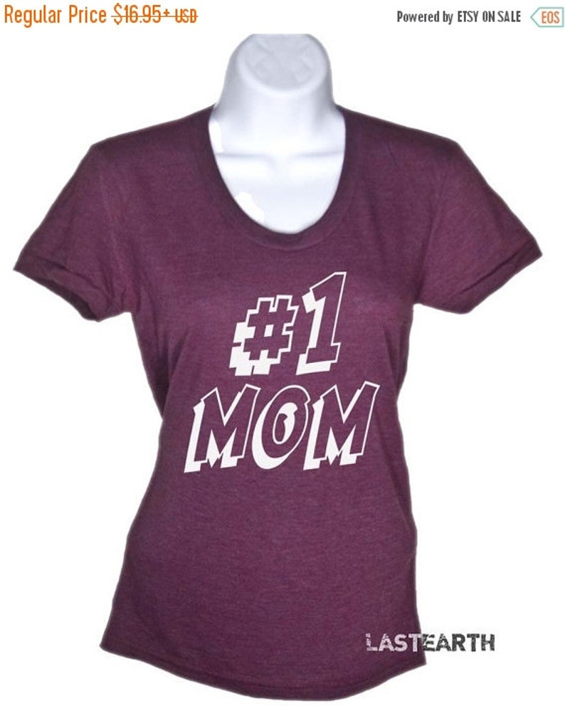 6061df8e3322e Number One Mom T-Shirt - #1 Mom Shirt - Mothers Day Gift - Gifts For Mom  From Daughter Mom Shirt Mama Shirt Mama Bear Anniversary Gifts
