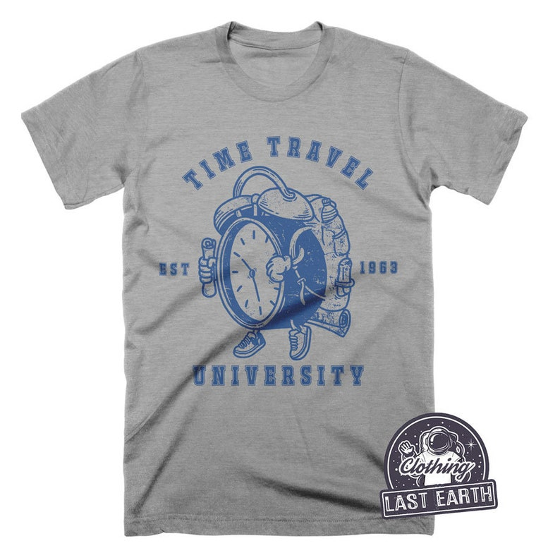 260458b9a Time Travel Shirt Doctor Who Shirt Funny Tshirt Camping | Etsy