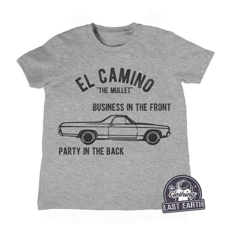 d8d08716 ON SALE El Camino T-Shirt Funny Car Shirts Mullet Shirt | Etsy