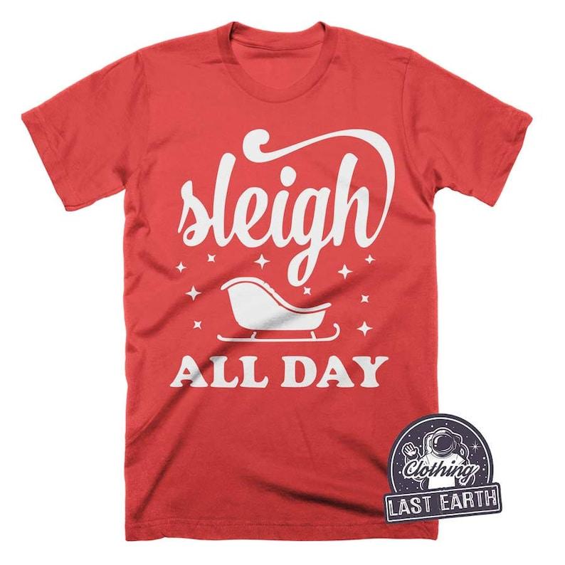 HONEY BADGER CHRISTMAS T-shirt funny holiday Unisex Mens Ladies tee