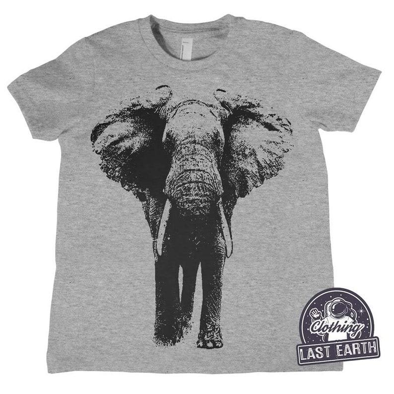 141125868f6ece Kids Elephant Shirt Childrens Clothing Elephant Gifts