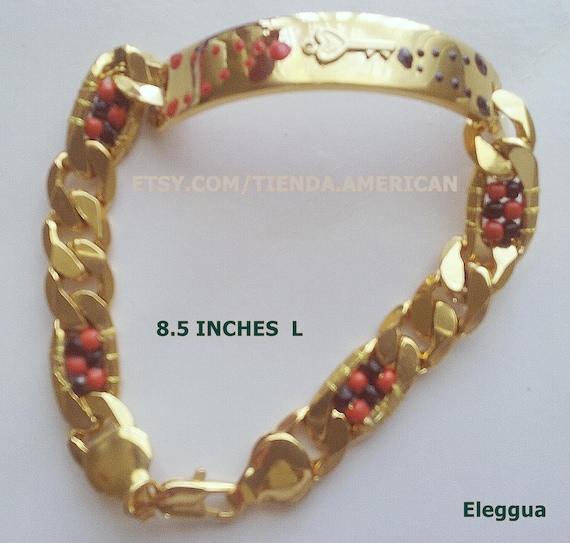 outlet(mk) Venta de liquidación 2019 precios increibles SANTERIA Yoruba 316L Stainless Steel Bracelet for Orishas Pulsera de  acero-niquel para su santo