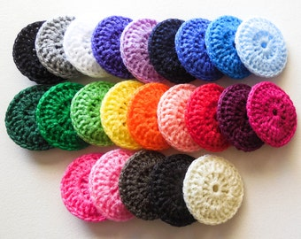 Nylon Dish Scrubbies - Choose Your Own Colors - 2 through 100 - Crochet Pot Scrubber