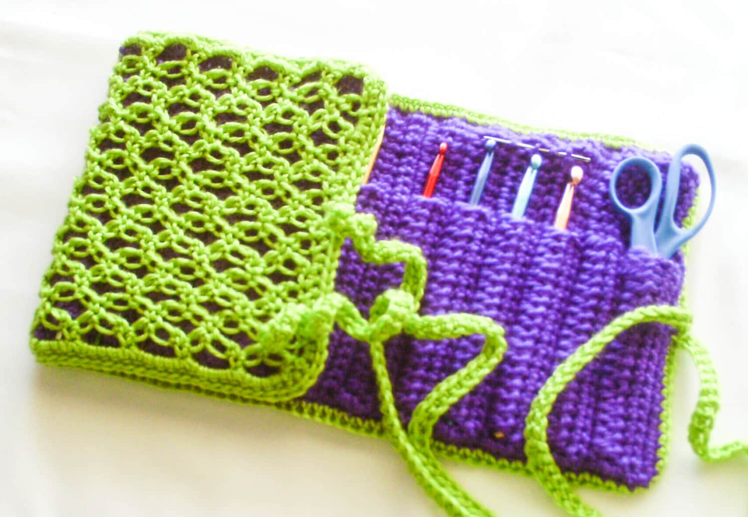 Crochet Hook Organizer Crochet Hooks Available Lime And Etsy