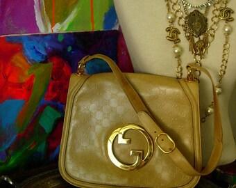 4669bf1f30 Ultra RARE Vintage GUCCI BLONDIE Embossed Full Leather Heritage Equestrian  Purse Saddle Kelly Handbag Shoulder Bag Tote Accessory