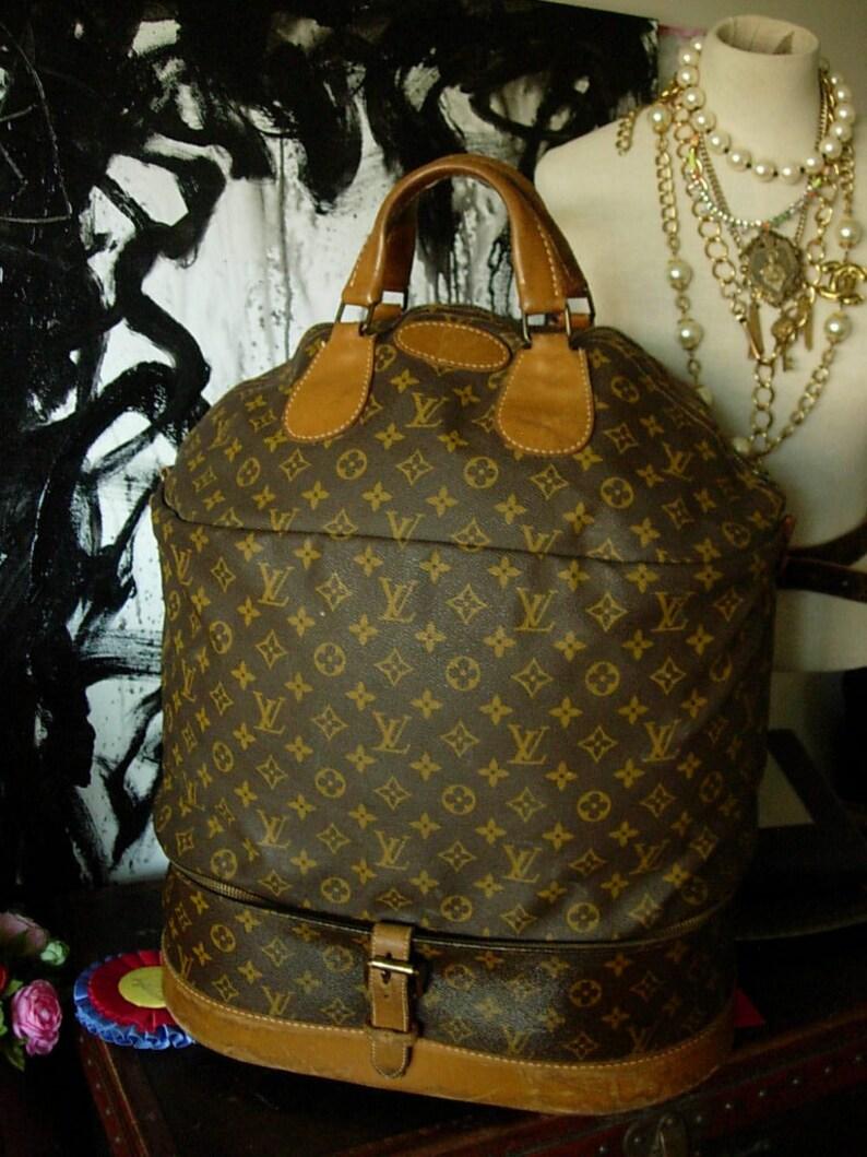 bfe950b104e2e Ultra Rare Vintage LOUIS VUITTON French Company Steamer Bag | Etsy