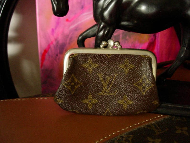 Ultra Rare Cutie Vintage LOUIS VUITTON French Company Licensed  6245f9f55a419