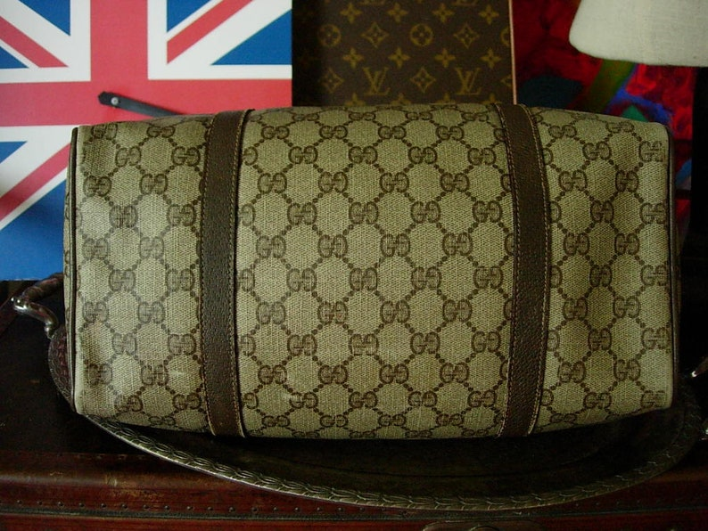 304dee921 Pretty RARE Vintage GUCCI Speedy Purse Handbag Tote Bag | Etsy