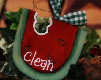 WATERMELON Dishwasher Sign Dishes Clean Dirty Kitchen watermelons