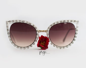 57fbab781a NEW-Oversized Cat eye Sunglasses