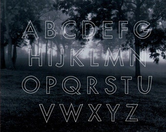 a font for love letters (linear)