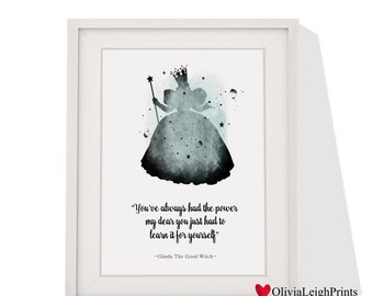 The Wizard Of Oz Glinda The Good Witch Art Print