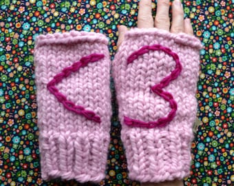 1-Hour Fingerless Gloves - PATTERN - INSTANT DOWNLOAD