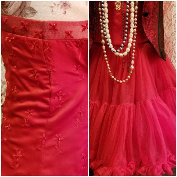 Bustier, Petticoat, Madonna Costume, Burlesque, 8… - image 5