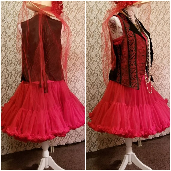 Bustier, Petticoat, Madonna Costume, Burlesque, 8… - image 3