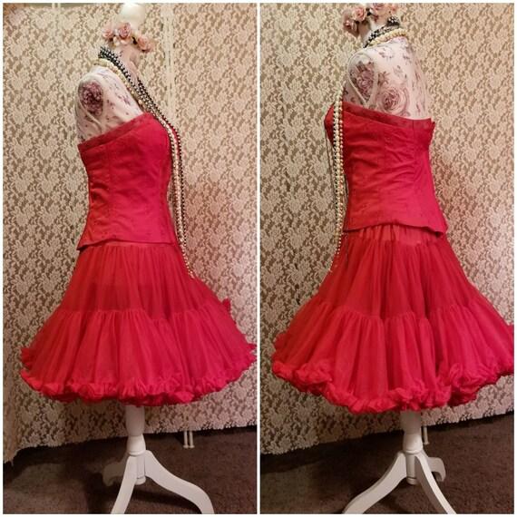 Bustier, Petticoat, Madonna Costume, Burlesque, 8… - image 2